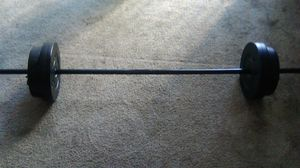 Great condition BARBELL SET. for Sale in San Diego, CA