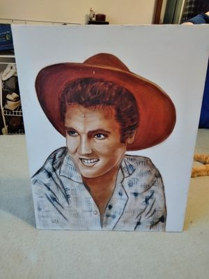 Elvis Canvas Picture for Sale in Sunnyvale, CA