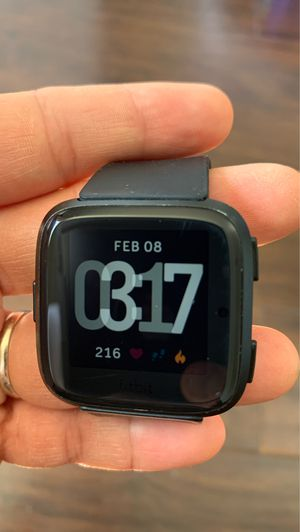 Fitbit Versa + Charger for Sale in San Diego, CA