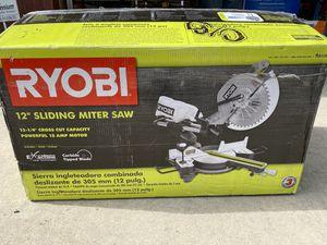 """Ryobi 12"""" Sliding Miter Saw for Sale in Ontario, CA"""