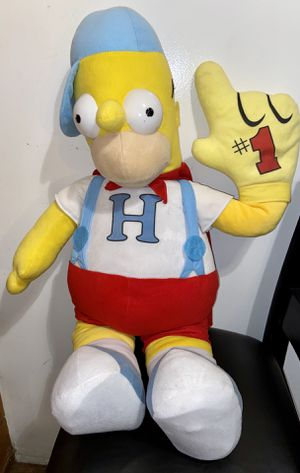 "3 FeeT jumbo size The Simpsons #1 homer simpson plush approximately 39"" inches for Sale in Lakewood, CA"