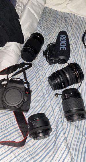Rebel T6I camera kit for Sale in Ledyard, CT