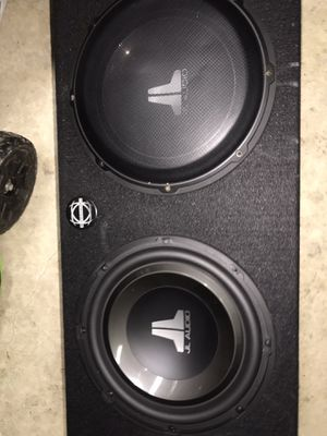 Jl Audio W1 12' subwoofers for Sale in Woodburn, OR