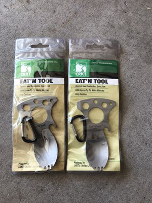 CRKT Eat n' tool spork for backpacking / survival for Sale in Chandler, AZ