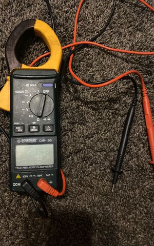 Electrical Clamp Tester Greenlee CMI-100 for Sale in Arboga, CA