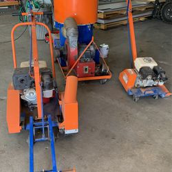 Concrete Saw And Vacuum Unit for Sale in Greenville, SC