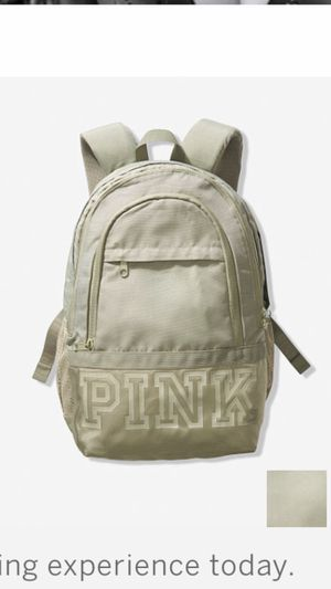 Victoria secret pink green backpack for Sale in East Los Angeles, CA