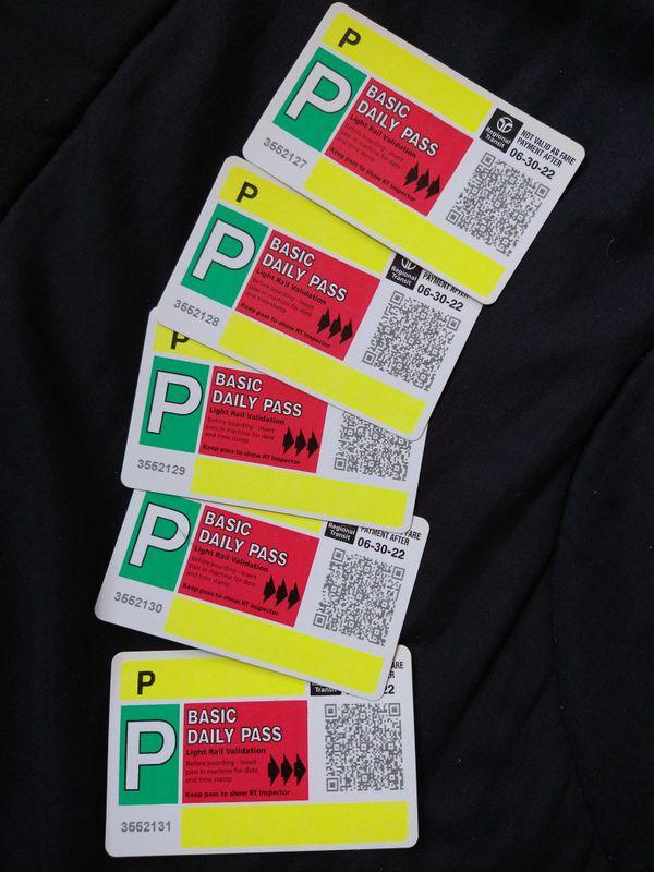 Sacramento RT Passes