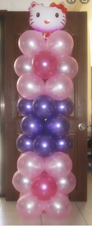 balloon tower/party decoration for Sale in Carol City, FL