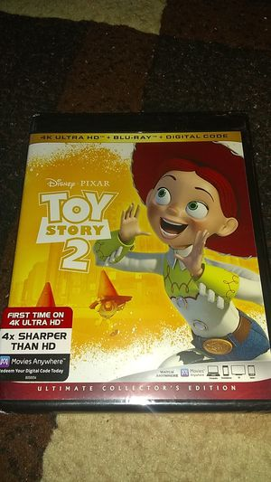 TOY STORY 2 BRAND NEW SEALED NEVER OPENED 4K ASKING ONLY FOR $14.00 for Sale in Phoenix, AZ