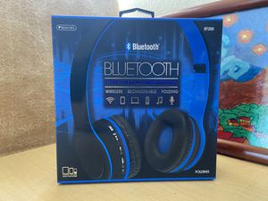 Bluetooth stereo headphones with microphone/ rechargeable battery/ folding/ wireless for Sale in Los Angeles, CA