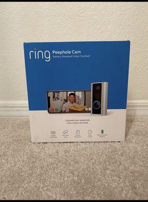 Ring peephole camera for Sale in Alexandria, VA