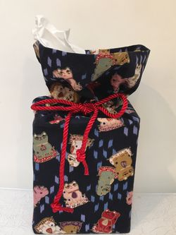 Tissue Box Cover Holder Maneki Cat Boutique Size Handmade for Sale in Issaquah,  WA