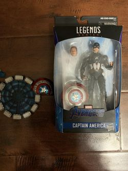 (Worthy) Captain America Marvel Legends And Nota Studios Accesories Bundle for Sale in Los Angeles,  CA