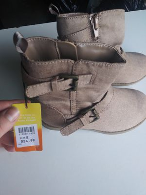 Brand new size 8 girls boots for Sale in Des Moines, WA