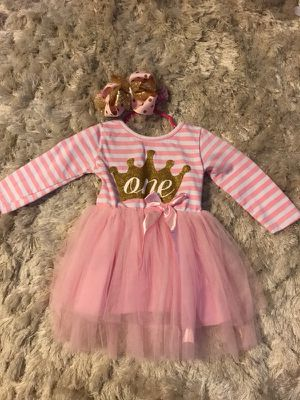 Birthday outfit baby girl for Sale in Phoenix, AZ