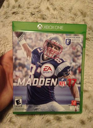 Madden 17 Xbox one for Sale in Woden, IA