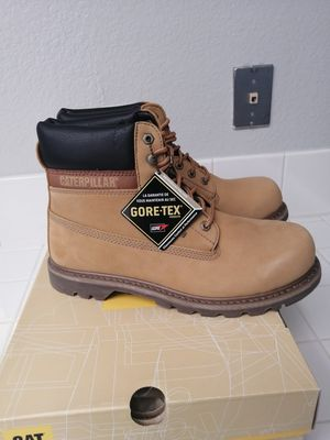 Brand new Caterpillar work boots for men. Size 9.5, 10 and 11. Soft toe for Sale in Riverside, CA