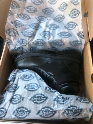 Brand new Dickies black boot size 11 for Sale in Dania Beach, FL