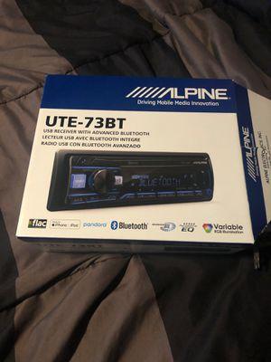 ALPINE— UTE-73bt for Sale in Rancho Santa Margarita, CA