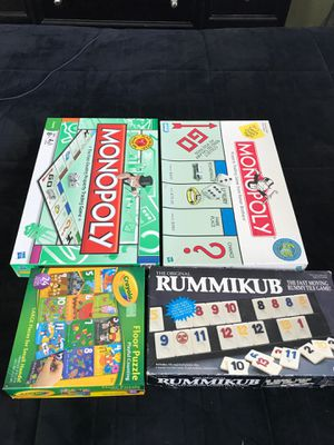Board games for Sale in Beaumont, CA