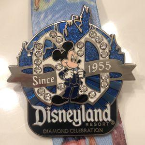 Mickey | Disneyland Diamond celebration pin for Sale in Modesto, CA