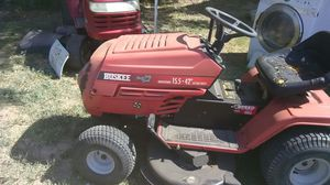 Huskee riding mower good condition ruins works great for Sale in San Angelo, TX