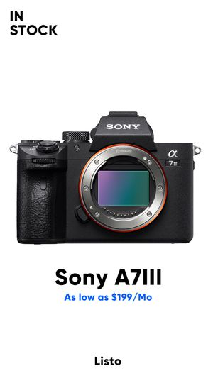 Sony A73 camera! Brand new! Only $39 down! for Sale in Dallas, TX
