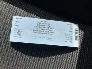 VIP WILDSPLASH ticket for Sale in Land O' Lakes, FL