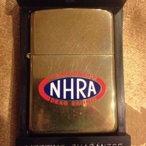 ZIPPO CHAMPIONSHIP DRAG RACING NHRA UNUSED (BRASS COLOR) for Sale in Phoenix, AZ