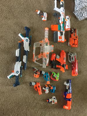 HUGE NERF And X shot collection for Sale in Joint Base Lewis-McChord, WA