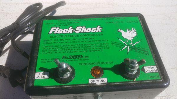 Shoker Flock Shock 220 Vac 50 60 Hz 10w Max Oborudovanie I Komplektuyushie Dlya Pticevodstva