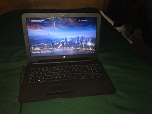"HP Notebook Laptop 15-bs212wm 15.6"", Celeron N4000, 4 GB RAM, 5 GB HDD - Windows 10 for Sale in Columbus, OH"