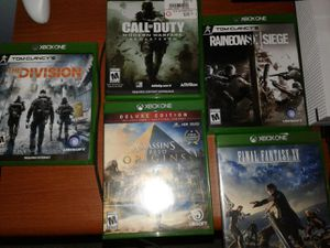 XBOX ONE PLUS T.V, 5 VIDEO GAMES [LIMITED EDITION] for Sale in Fort Belvoir, VA
