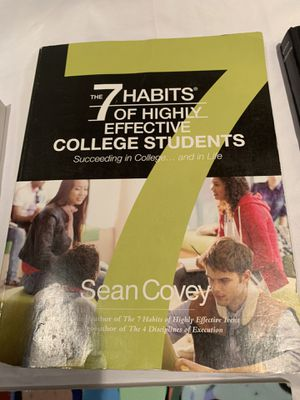 7 habits of highly effective college students for Sale in Irvine, CA