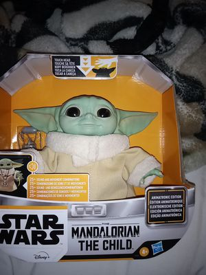 Star Wars Baby Yoda Mandalorian the Child Toy Doll Figure Rare Sold Out for Sale in Riverside, CA