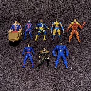 1994 Lot of 8 Marvel Toy Biz Steel X-Men Figures for Sale in Trenton, NJ