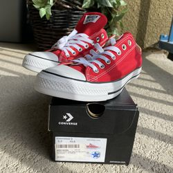 Red Classic Chuck Taylor All Stars - Converse for Sale in Las Vegas,  NV