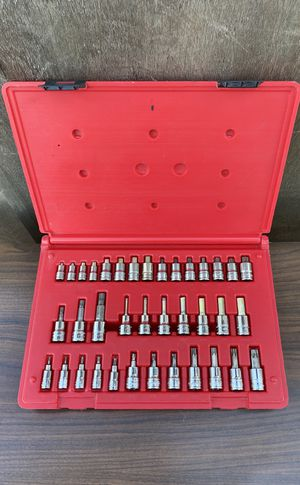 Snap On 37 pc Combination Drive Hex & Torx Socket Driver Set (((( $635 OBO )))) ❗️Really Nice Set ❗️ for Sale in Riverside, CA