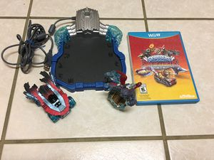 Wii U Skylanders Superchargers Game, Character, Vehicle, Portal for Sale in Spring Hill, FL