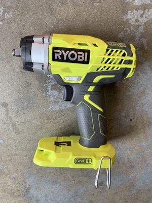 "Ryobi 18v 3/8"" 3 speed impact wrench for Sale in Fresno, CA"