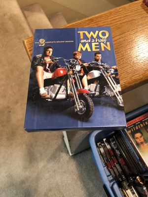 Two And A Half Men The Complete Second Season 2 two S2 tv series box set Charlie Sheen for Sale in Buena Park, CA