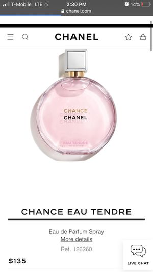 Chanel Chance perfume for Sale in Pasadena, TX