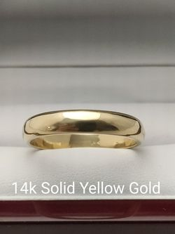 New Solid 14k Yellow Gold MEN'S BAND ring size 13 $800 OR BEST OFFER ** FREE DELIVERY!!! 📦🚚 ** for Sale in Phoenix,  AZ