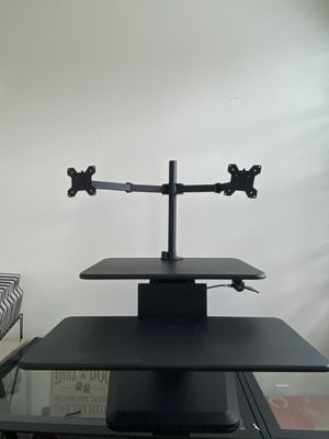 Mount it adjustable base for dual computer monitors for Sale in Oakland Park, FL