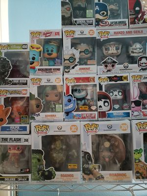 Rare/exclusive funko pops. Lots of them. Taking offers for Sale in Los Angeles, CA