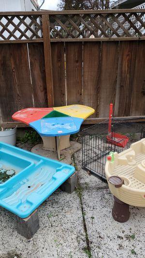 Letgo tabla, animal cage, pool boat for Sale in Fresno, CA