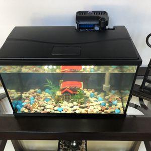 10 Gallon Top Fin Aquarium Starter Kit for Sale in Suwanee, GA
