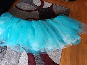 Turquoise tulle for Sale in Burr Ridge, IL