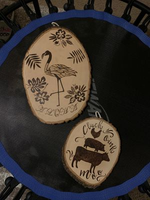 Handmade Pyrography/Wood Burnings for Sale in University Place, WA